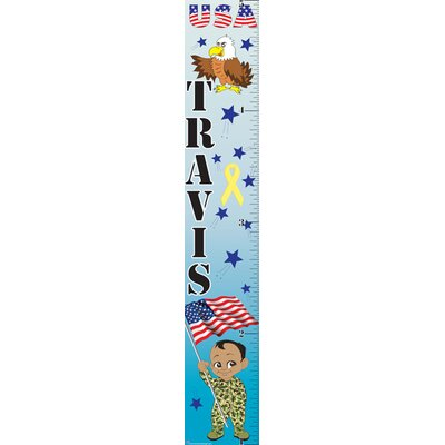 Mona Melisa Designs Patriotic Boy Growth Chart