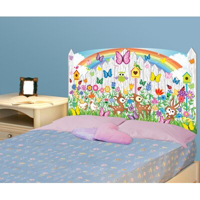 Mona Melisa Designs Peel and Stick Flower Garden Panel Headboard