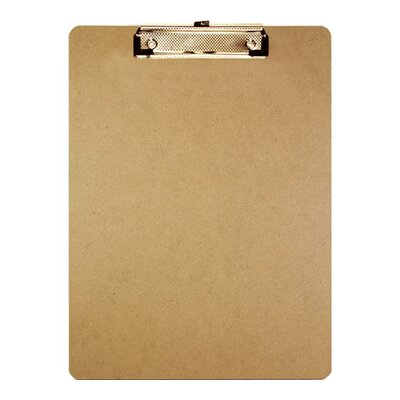 Bazic Standard Size Hardboard Clipboard (Set of 24)