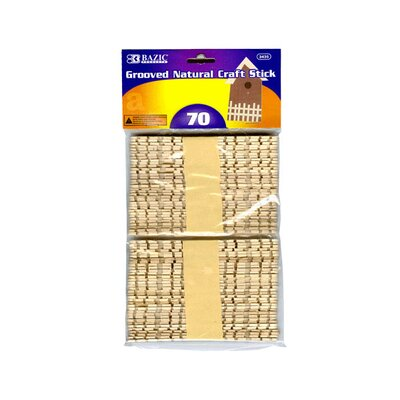 Bazic Craft Sticks (Set of 70)