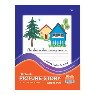 Bazic Picture Story Pad (Set of 48)