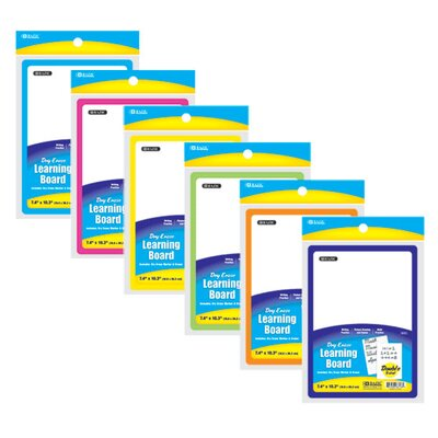 "Bazic Double Sided 7.4"" x 10.3"" Whiteboard"