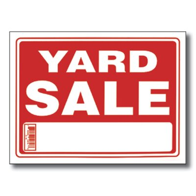 Bazic Yard Sale Sign (Set of 24)