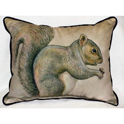 Lodge Squirrel Indoor / Outdoor Pillow