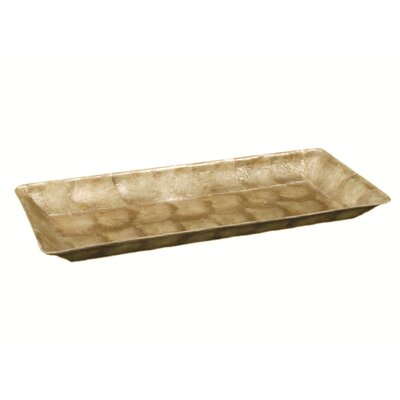 Dekorasyon Gifts & Decor Capiz Rectangular Tapered Tray