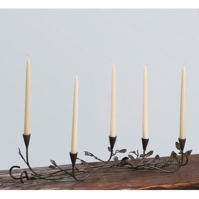 Dekorasyon Gifts & Decor Five-Leaf Centerpiece Metal Wire Candelabra