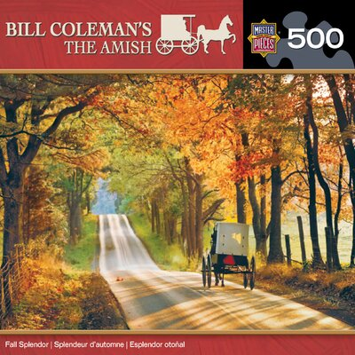MasterPieces Bill Coleman Fall Splendor 500 Piece Jigsaw Puzzle