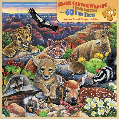 Grand Canyon Wildlife 48 Piece Jigsaw Puzzle