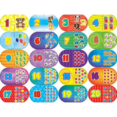 MasterPieces Numbers Game 40 Piece Jigsaw Puzzle