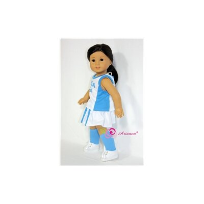 "Arianna Lacrosse Uniform for 18"" American Girl Doll"