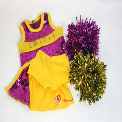 Got Spirit Cheerleader Outfit for 18