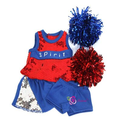 "Arianna Got Spirit Cheerleader Outfit for 18"" American Girl Doll"