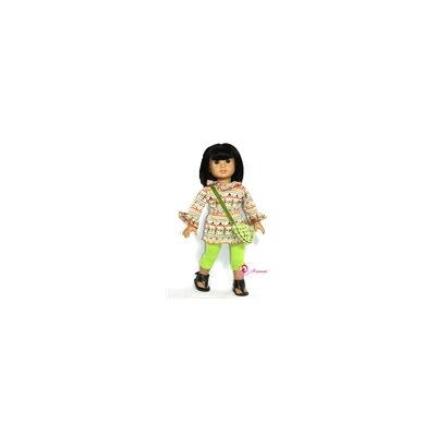 "Arianna 3 Piece Harvest Glow Set Fits 18"" American Girl Doll"
