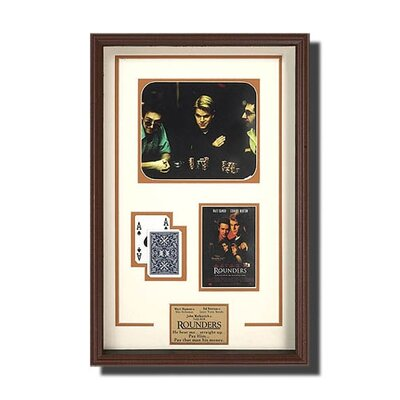 Legendary Art Framed 'Rounders' Memorabilia Picture