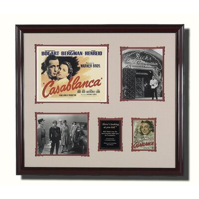 Legendary Art Framed 'Casablanca' Memorabilia