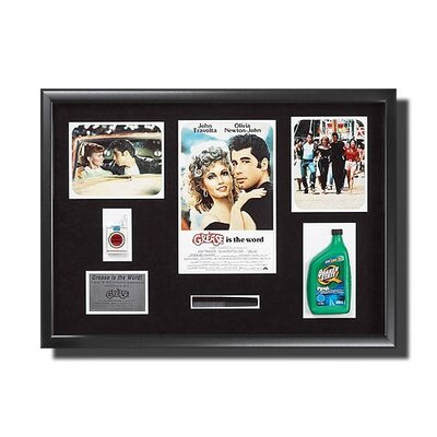 Legendary Art Framed 'Grease' Memorabilia