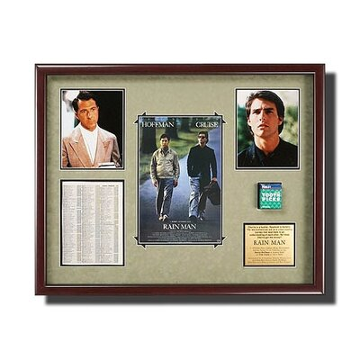 Legendary Art Framed 'Rain Man' Memorabilia