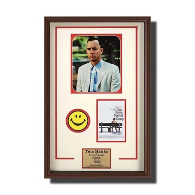 Legendary Art Framed Rectangular 'Forrest Gump' Memorabilia