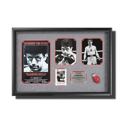 Legendary Art Framed 'Raging Bull' Memorabilia