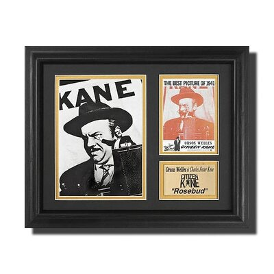 Legendary Art 'Citizen Kane' Movie Memorabilia