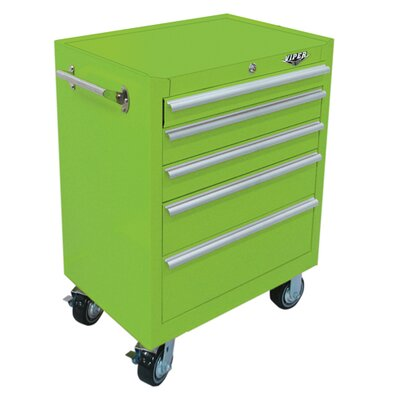 "Viper Tool Storage 26"" 5-Drawer Roll Away Cabinet"