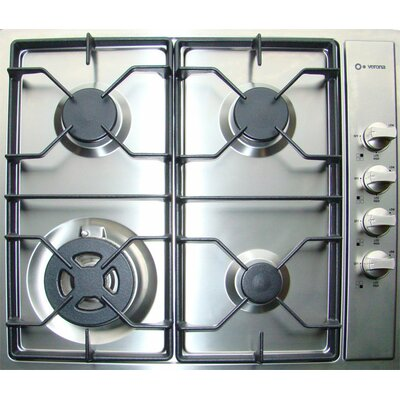 "Verona 24"" Gas 4 Burner Cooktop"