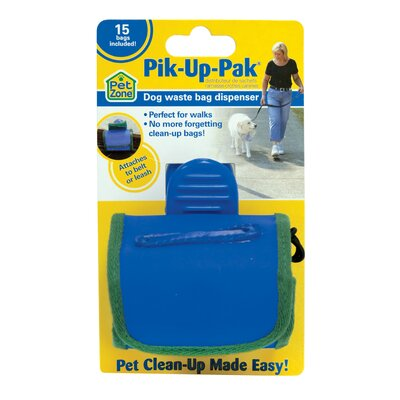 Pet Zone Pick Up Pack Dog Waste Bag Dispenser