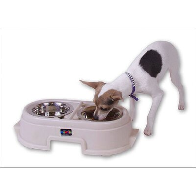 Raised Feeders Store-N-Feed Jr. Pet Feeder