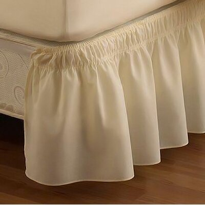 <strong>Easy Fit™</strong> EasyFit  Wrap Around Solid Ruffled Bed Skirt