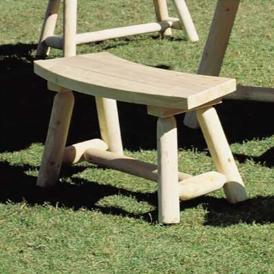 <strong>Rustic Natural Cedar Furniture</strong> Wood Picnic Bench