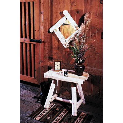 Rustic Natural Cedar Furniture Frontier Log Mirror