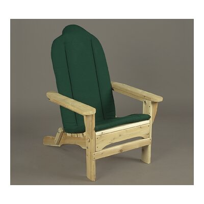 Rustic Natural Cedar Furniture Adirondack Seat Cushion