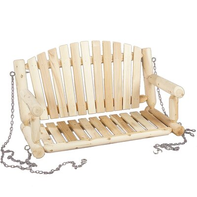 Sale alerts for Rustic Cedar  Porch Swing - Covvet