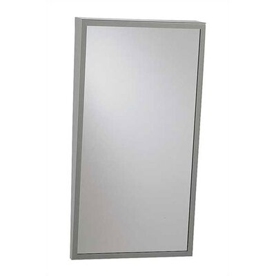 Fixed Tilt Mirror with Shelf