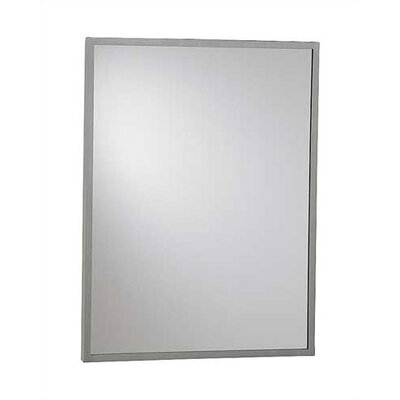 Steel Inter-Lok Angle Frame Mirror, 36