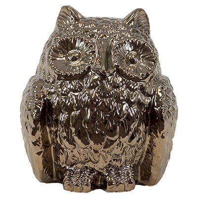 <strong>Urban Trends</strong> Home and Garden Accents Owl Figurine