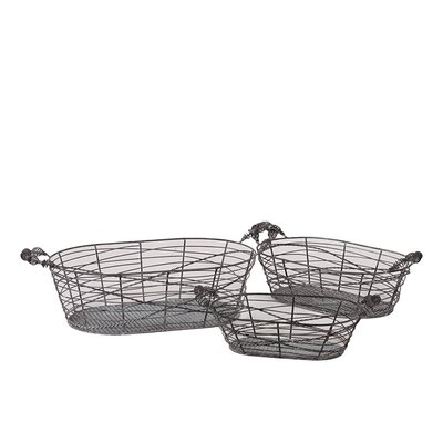 Urban Trends Metal Baskets
