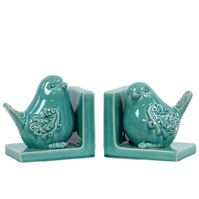 Urban Trends Ceramic Bird Bookend