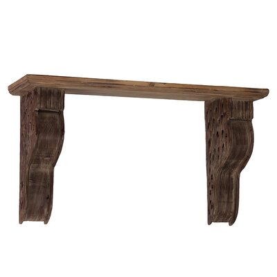 Urban Trends Wooden Corbel Shelf