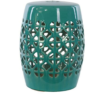 Urban Trends Ceramic Garden Stool