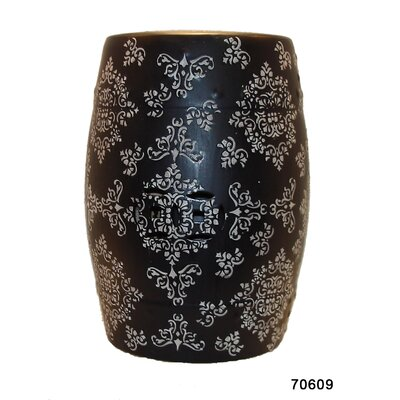 Urban Trends Tribal Accent Garden Stool