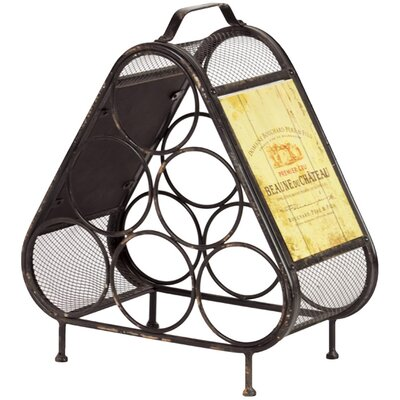 Urban Trends 6 Bottle Tabletop Wine Rack