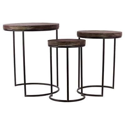 Urban Trends 3-Piece Nesting Tables
