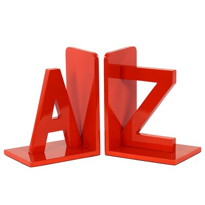 Urban Trends Wooden AZ Bookend