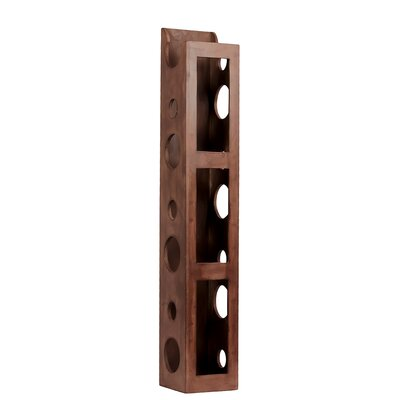 Urban Trends Wooden Wine Holder