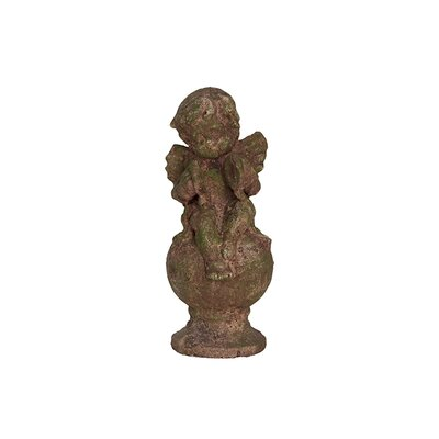 Urban Trends Stoneware Sitting Cupid Statue