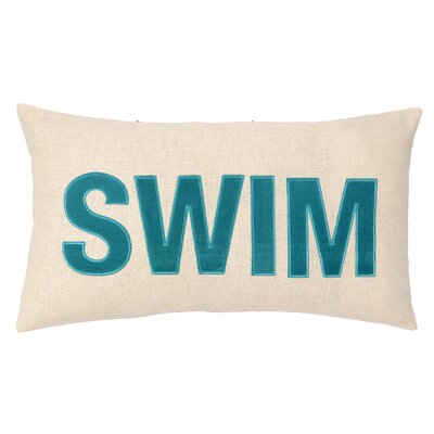 Peking Handicraft Nautical Applique Swim Pillow