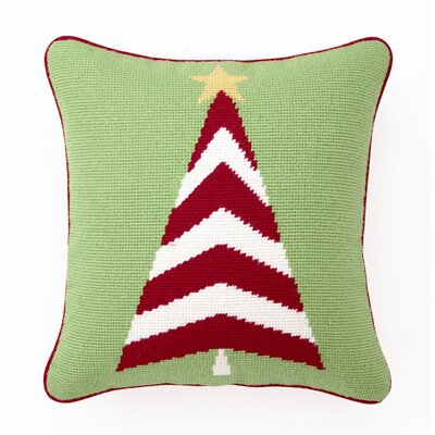Trim a Tree Wool / Cotton Pillow