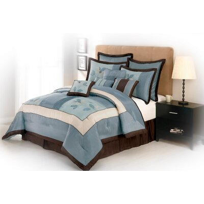 Samantha 10 Piece Comforter Set