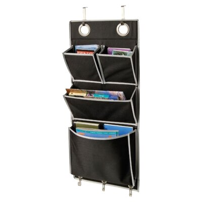 Richards Homewares Gearbox Over the Door Magazine Organizer